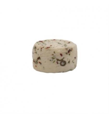 Caciotta di pecora olive e peperoncino
