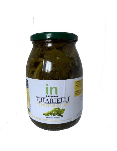 Friarielli - broccoli napoletani in olio di semi di girasole